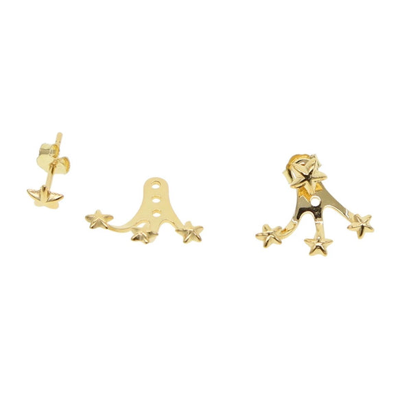 18K Gold Vermeil Star Claw Ear Jacket