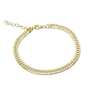 14k-Yellow-Gold-Vermeil-Curb-Chain-Link-Bracelet