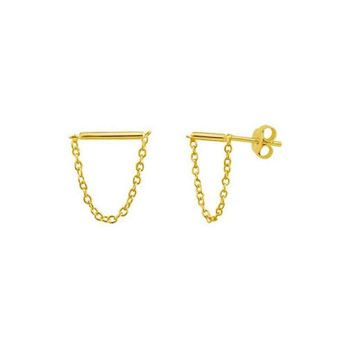 18k-Yellow-Gold-Vermeil-Halie-Bar-Chain-Studs
