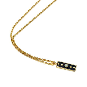 18k-Yellow-Gold-Vermeil-Itty-Bitty-Opal-Black-Bar-Charm-Necklace