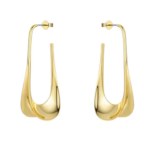 18k Yellow Gold Plated Kenzie Statement Earrings