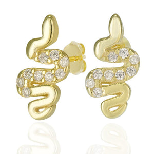18k-Yellow-Gold-Vermeil-Mini-Pave-Center-Snake-Studs