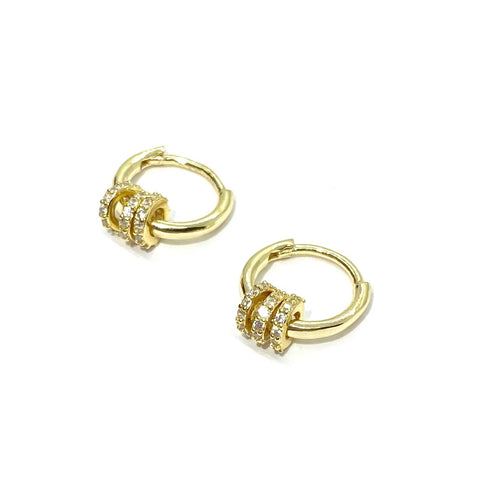 18k-Yellow-Gold-Vermeil-Mini-Pave-Ring-Barrel-Huggies