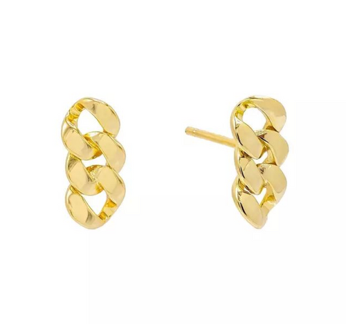 18k-Yellow-Gold-Vermeil-Mini-Gold-Chain-Link-Studs