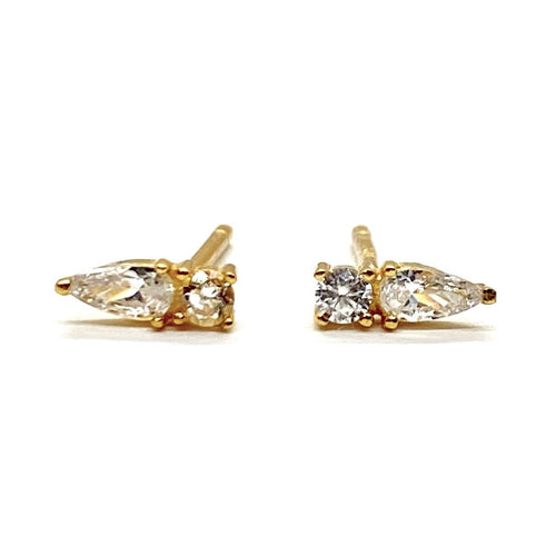 18k-Yellow-Gold-Vermeil-Mini-Pear-Cubic-Zirconia-Studs