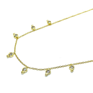18k-Yellow-Gold-Vermeil-Multi-Dangling-Cubic-Zirconia-Bezel-Charm-Necklace
