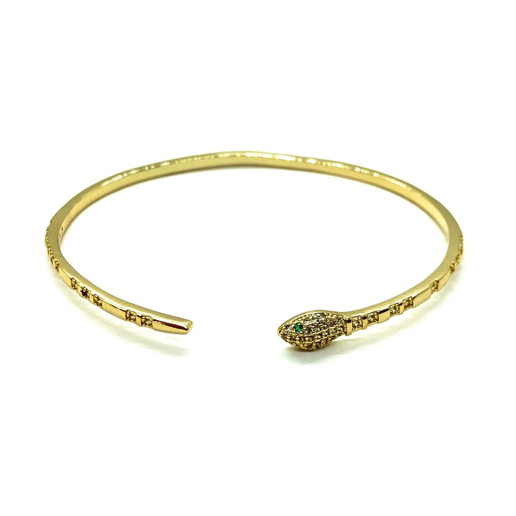 18k-Yellow-Gold-Plated-Pave-And-Emerald-Green-Cubic-Zirconia-Eye-Snake-Cuff