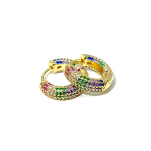 18k-Yellow-Gold-Plated-Rainbow-Pave-Tube-Hoops