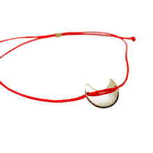 Load image into Gallery viewer, 14k Yellow Gold Vermeil Selma Red String Bracelet