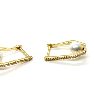 18k-Yellow-Gold-Plated-Sienna-Pave-Cubic-Zirconia-Pearl-Hoops