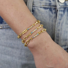 Load image into Gallery viewer, 18k Gold Plated Sonny Chain Link Bracelet