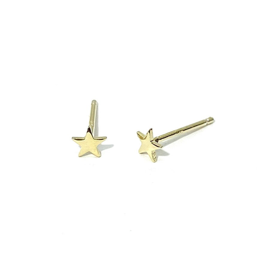 14k-Yellow-Gold-Vermeil-Super-Itty-Bitty-Gold-Star-Studs