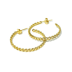 18k-Yellow-Gold-Vermeil-Thin-Gold-Chain-Link-Hoops