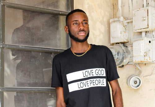 Love God Love People Short-Sleeve Unisex T-Shirt