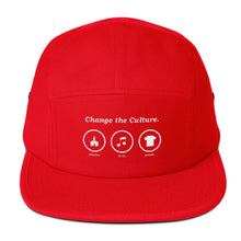 Change the Culture/ Five Panel Cap