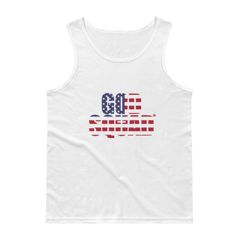 God Squad American Flag Tank Top