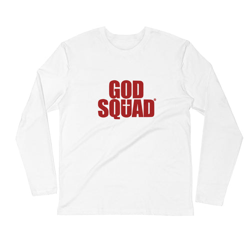God Squad Long Sleeve Fitted Crew