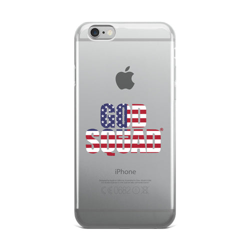 God Squad American Flag Phone Case - iPhone 5/5s/Se, 6/6s, 6/6s Plus Case