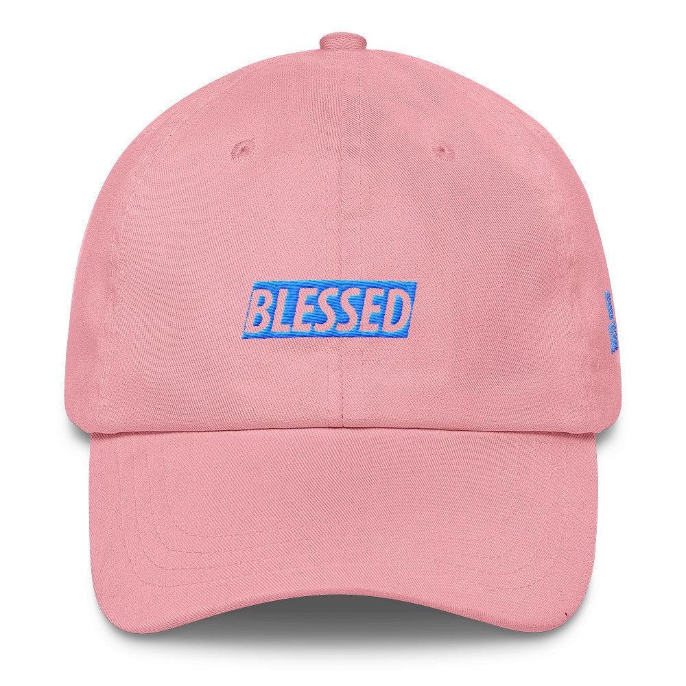 Blessed Limited Edition Aqua Print Dad Cap