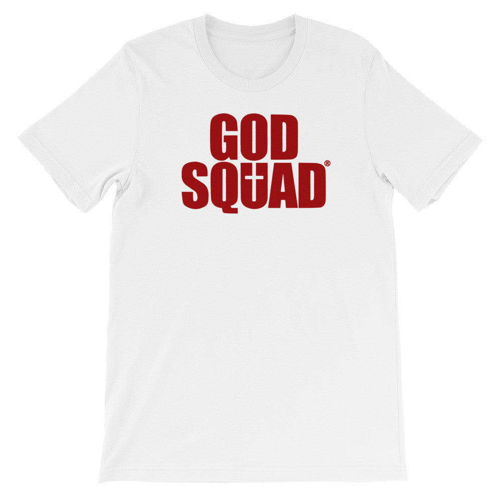 God Squad White & Red Classic Tee
