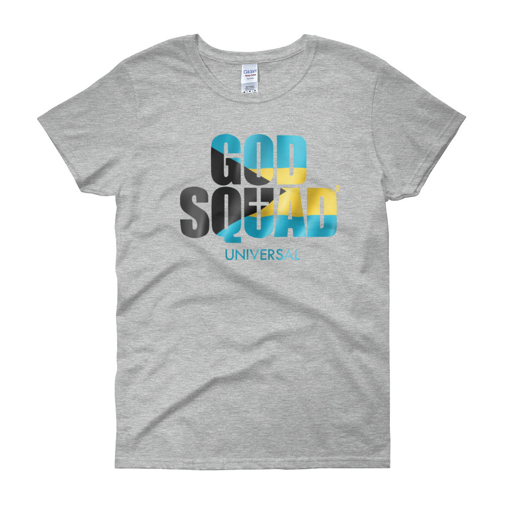 God Squad Bahamas Women's short sleeve t-shirt