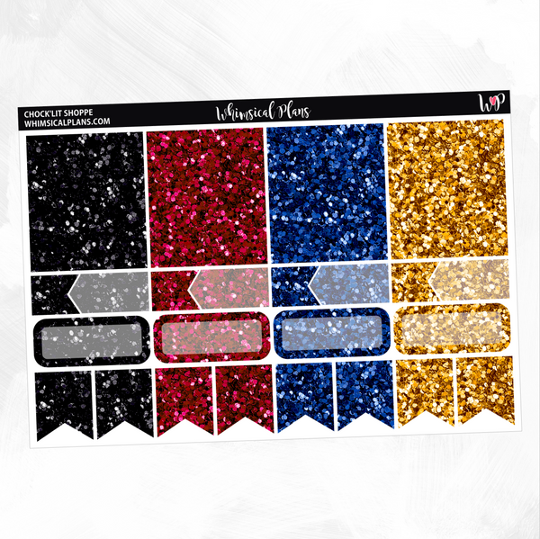 Chock'Lit Shoppe Glitter Sampler