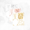 Leopard Full Box FOIL Overlays