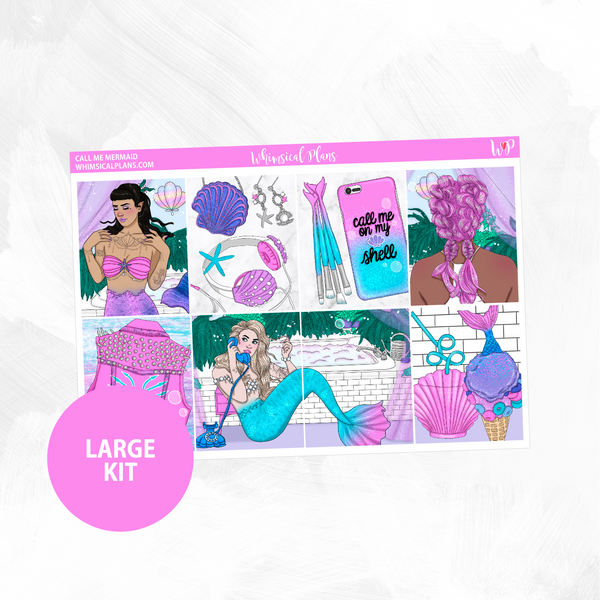 Call Me Mermaid Large Kit