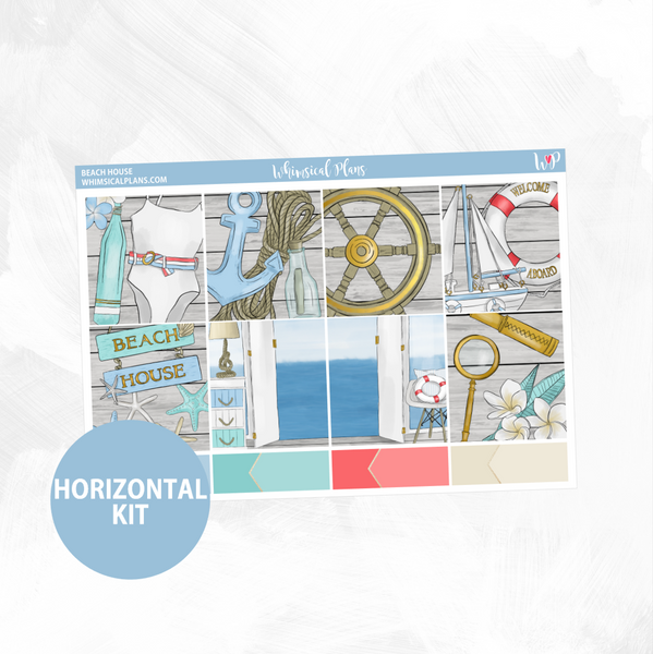 Beach House Horizontal Kit