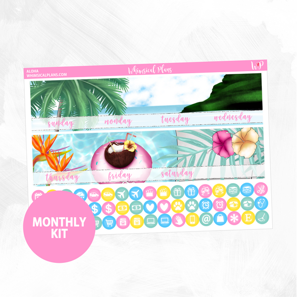 Aloha Monthly Kit