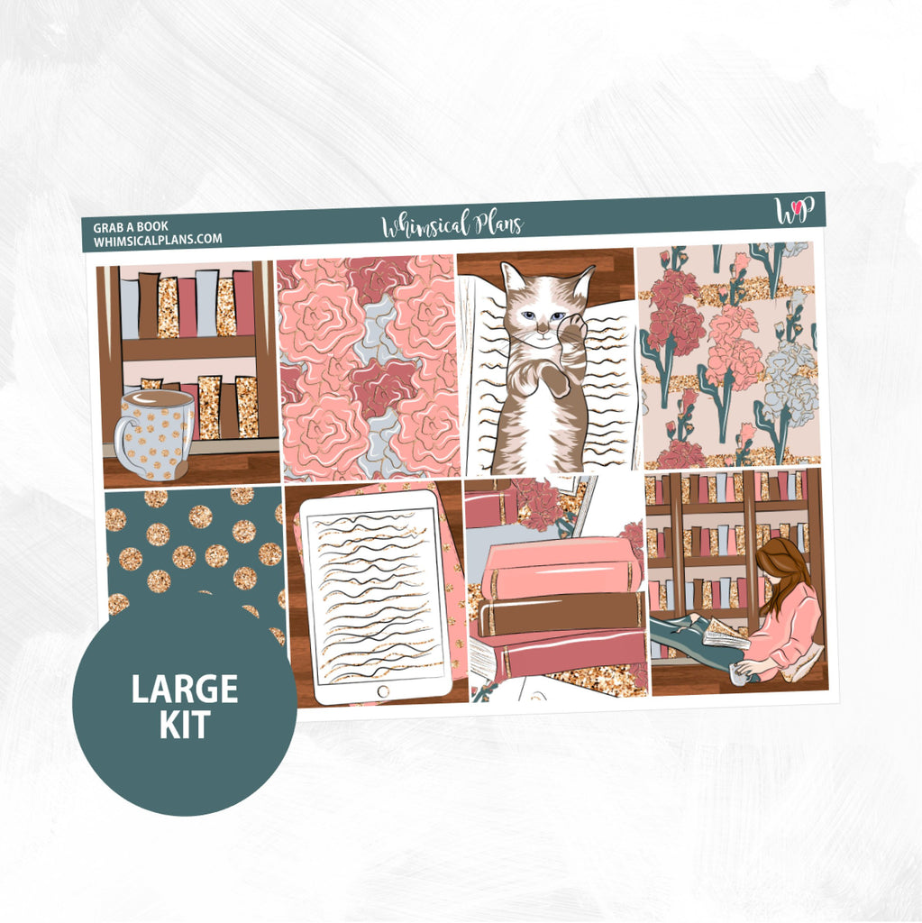 Grab A Book Large Kit