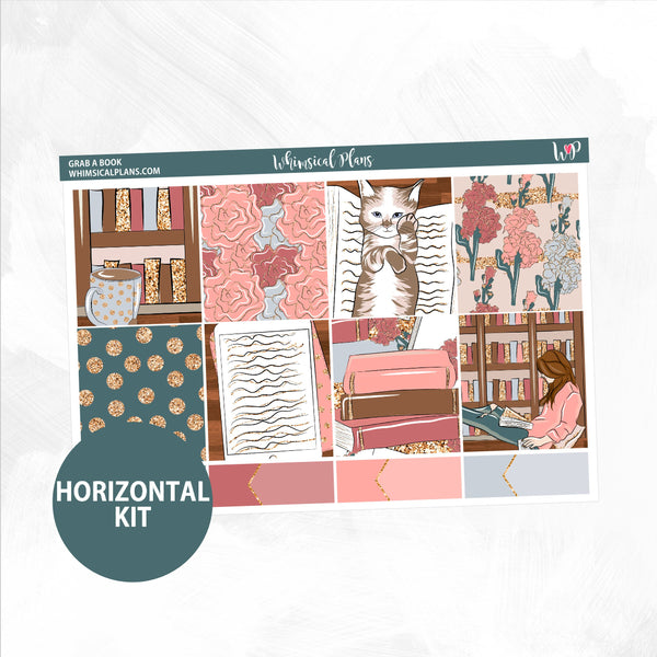 Grab A Book Horizontal Kit