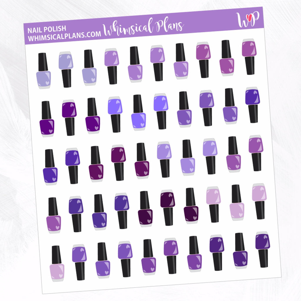 Nail Polish | Purple Multicolor