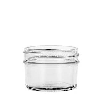 4oz (approx 70g) Glass Jelly Jar