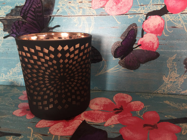 Diamond Black & Copper Soy Candle