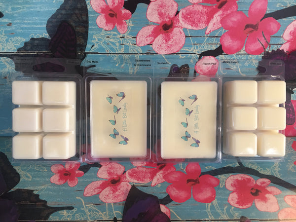 Hand poured soy melts