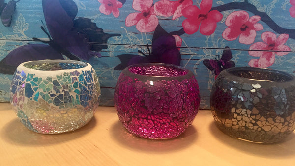 Large Mosaic Soy Candles