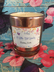 Copper and Silver Soy Wax Candle