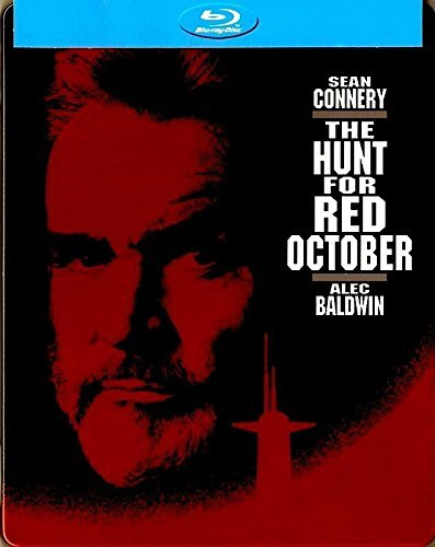 The Hunt for Red October Blu-ray Steelbook (DENTED - MAJOR CASE DAMAGE)