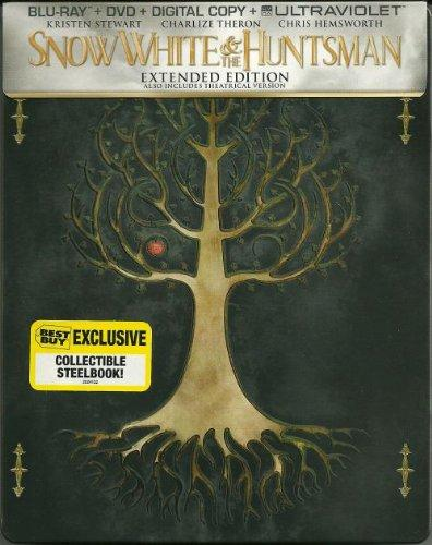 Snow White & the Huntsman Blu-ray + DVD + Digital Steelbook (DENTED-MINOR)