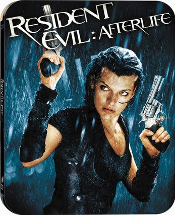 Resident Evil: Afterlife Blu-ray Steelbook (DENTED-MINOR)