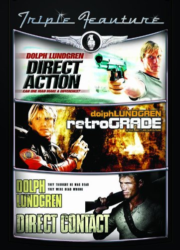 Dolph Lundgren Triple Feature: Direct Action / Retrograde / Direct Contact DVD