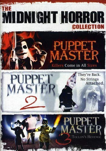 The Midnight Horror Collection: Puppet Master / Puppet Master 2 / Puppet Master 3: Toulon's Revenge DVD