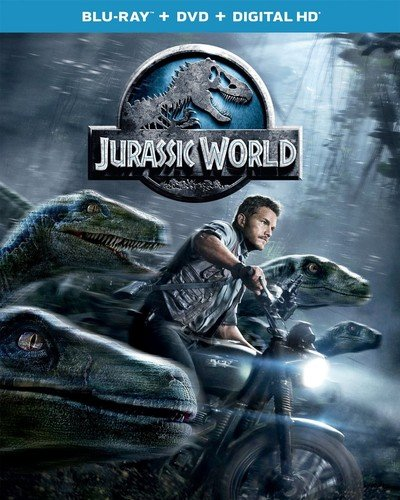 Jurassic World Blu-ray + DVD + Digital HD (with Slipcover)