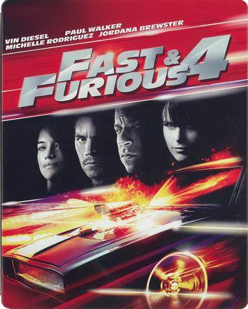 Fast & Furious 4 Blu-ray + DVD + Digital HD Steelbook (DENTED-MINOR)