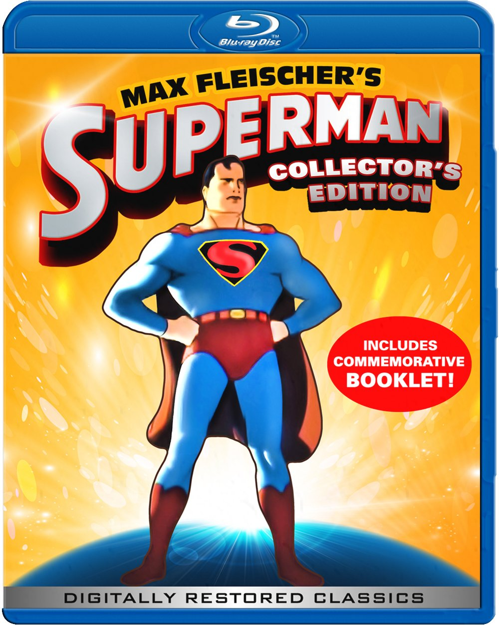 Max Fleischer's Superman Collector's Edition Blu-ray (Includes Commemorative Booklet)