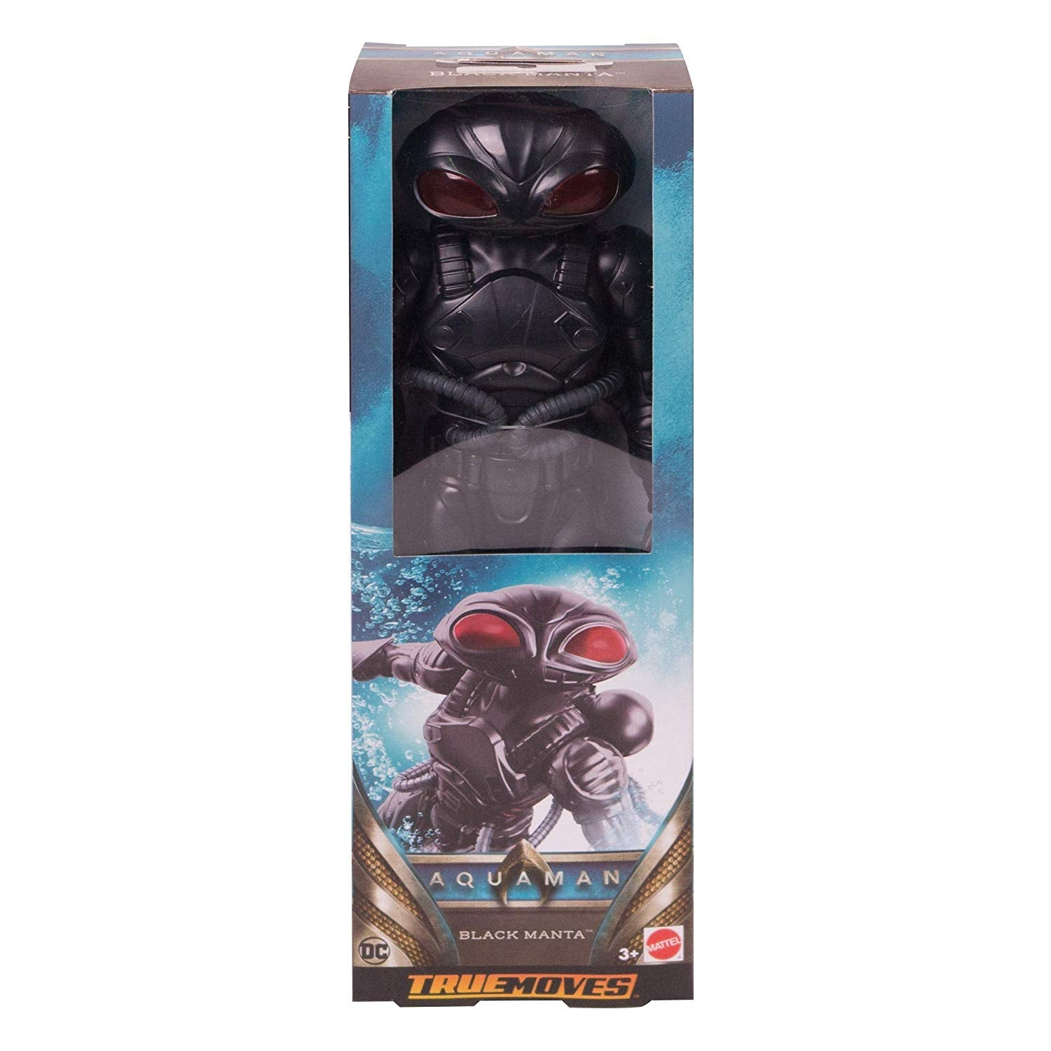 "Aquaman True-Moves Black Manta 11.5"" Figure"