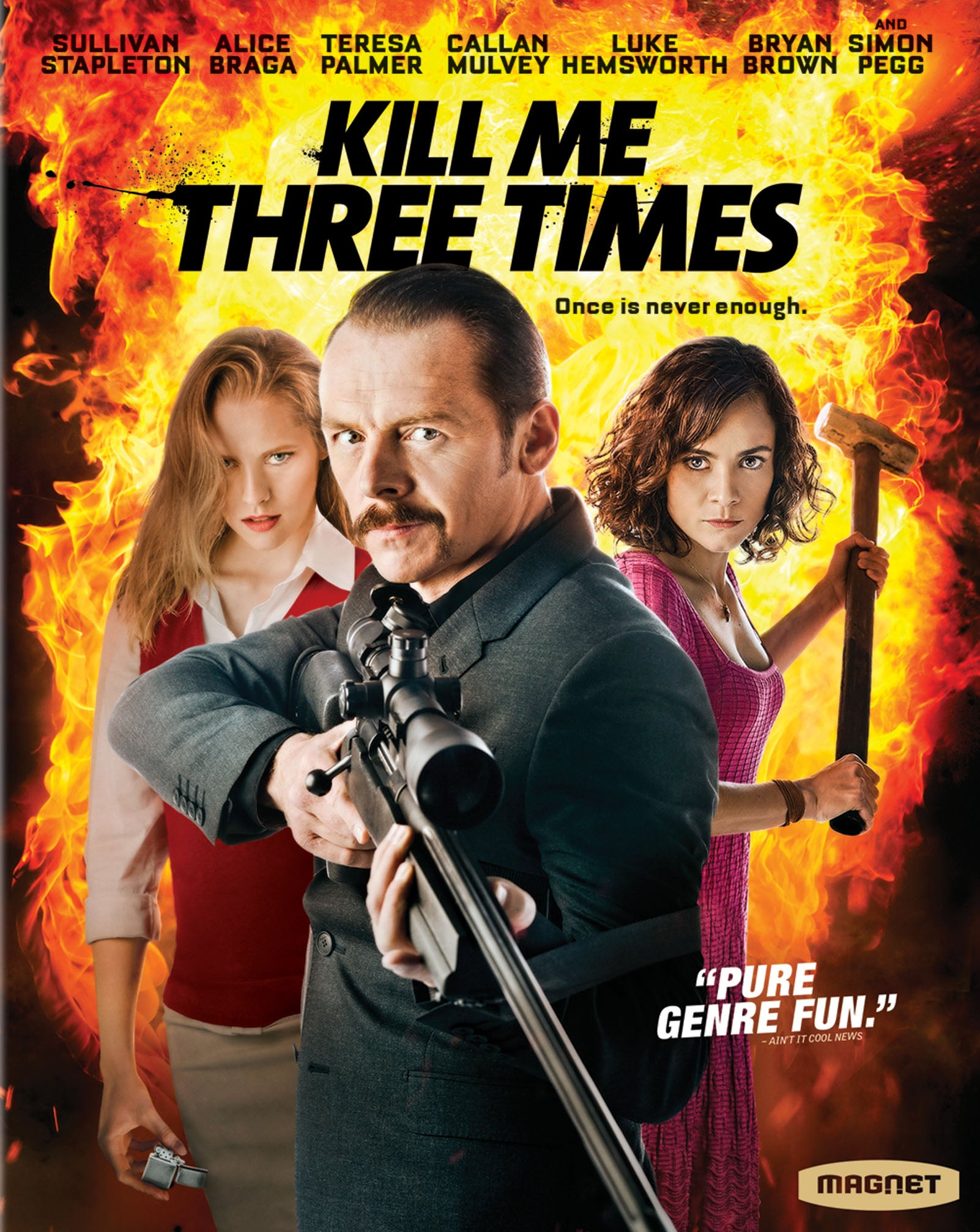 Kill Me Three Times Blu-ray (with Slipcover)