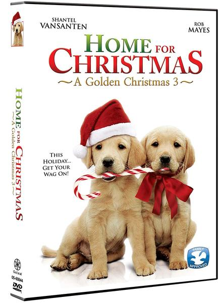 Home for Christmas: A Golden Christmas 3 DVD (TORN PAPER)