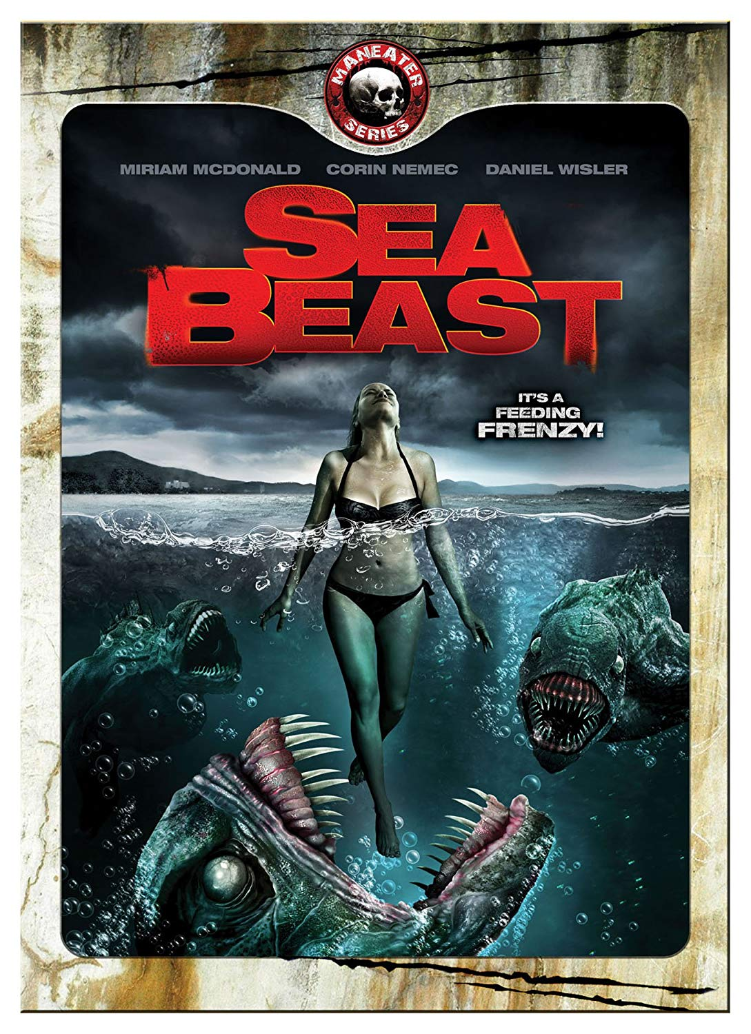 Sea Beast DVD (with Slipcover)